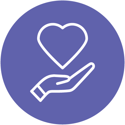 philanthropy icon by Justin Blake from the Noun Project